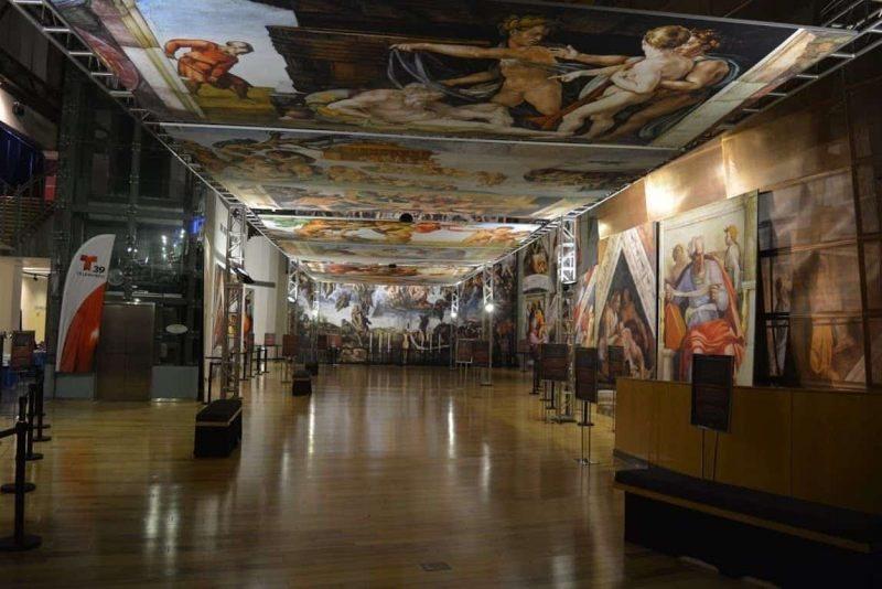 Michelangelo  Sistine Chapel Exhibition